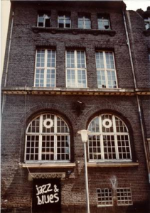 Der ehemalige Eingang zur Katakombe